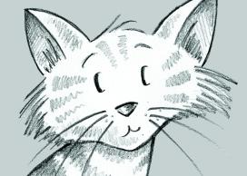 Stripy Cat