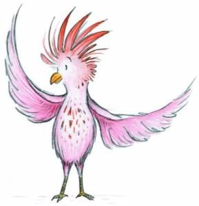 Pink Bird Logo