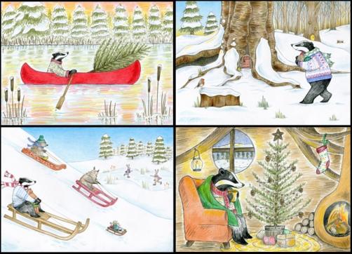 Badger's Christmas Selectiony